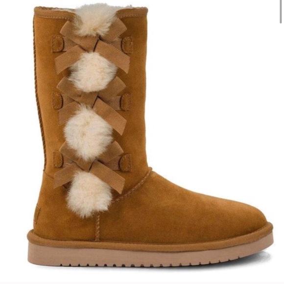 b2829b26cbf UGG Koolaburra fur lined boots